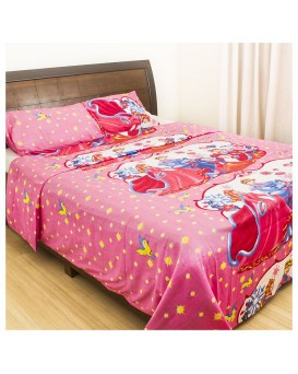 cartoon Printed Cotton Bedsheet 5008